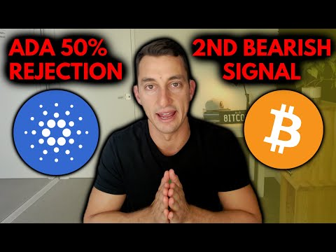 CARDANO [ADA] REJECTED AT 50% | BITCOINS WEAK SIGNAL, ETHEREUM \u0026 CRYPTO PRICE UPDATES FOR INVESTORS