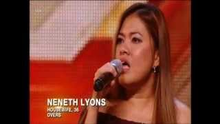 THE X FACTOR 2015 AUDITIONS - NENETH LYONS