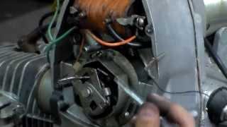 регулировка зажигания МТ(регулировка контактного механического зажигания мотоциклов
