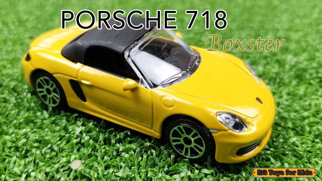 Porsche 718 Boxster Majorette ShowBox