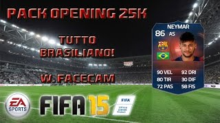 FIFA 15 | Special Pack Opening | Brazilian TOP Player In a Pack! w/FaceCam