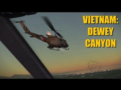 Reapers In Vietnam: Dewey Canyon | Huey Ka-50 Bf-109 | DCS