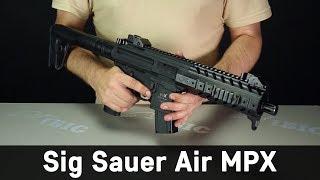 видео Пистолет-пулемет SIG-Sauer MPX (США)