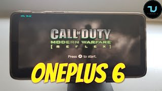 OnePlus 6 Call of Duty: Modern Warfare Gameplay Wii emulator Snapdragon 845 Dolphin latest version