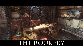 TES V - Skyrim Mods: The Rookery - Bard and thief loft in Solitude