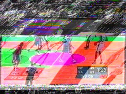 New York Knicks @ San Antonio Spurs (07/12/2000)