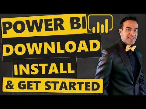 FREE Power BI Download, Install & Get Started In Minutes