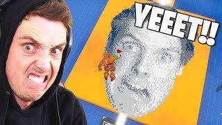 The LAZARBEAM Pixel Art DEATHRUN! (Fortnite Creative Codes)