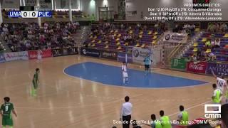 DIRECTO: Fútbol Sala: UMA Antequera - FSD Puertollano. PlayOff Ascenso. Castilla - La Mancha Media