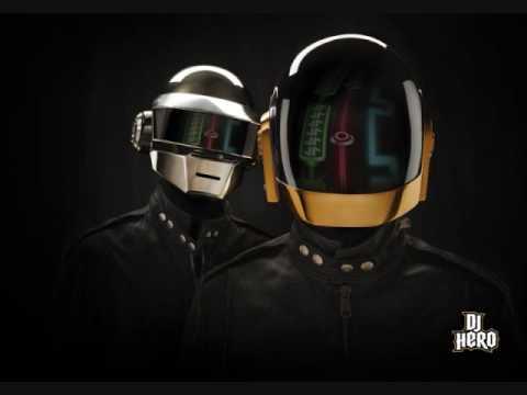 Dj Hero - Daft Punk - Megamix 1 - Clean High Quality