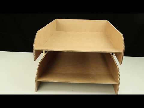 How to make Two Paper  shelf | DIY Paper Shelf