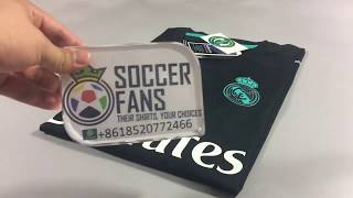 Real Madrid Away 17/18 player version (KitMe/SoccerFans)
