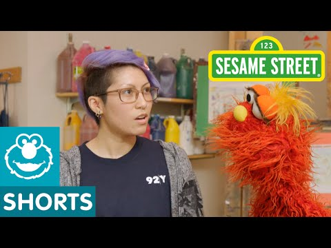 Sesame Street: Murray Creates A Superhero