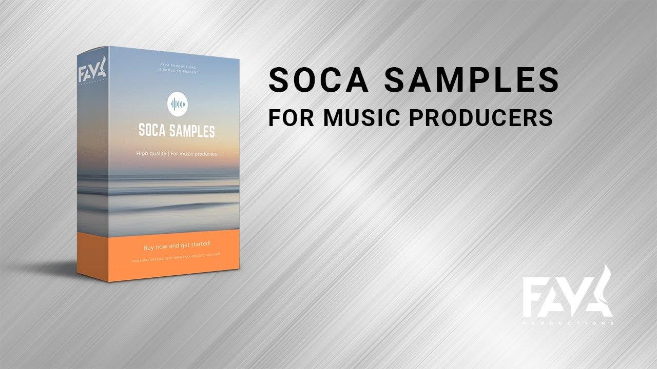 🎵 Soca Drums & Loops - Soca Samples - Caribbean Drums - Soca Loops (Wav )  Royalty Free