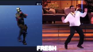 Fortnite Dances Vs Real Life (worm,floss,fresh)