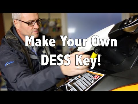 How To Make A New DESS Key For Your Personal Water Craft