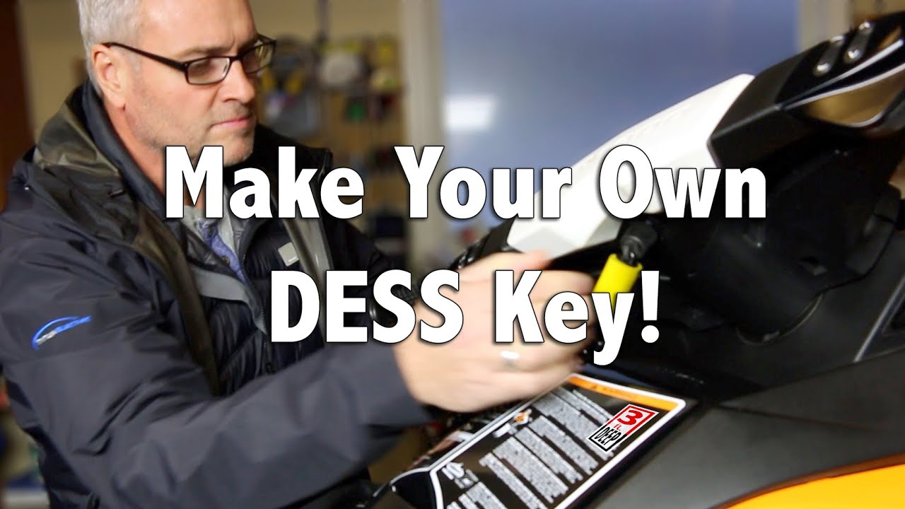 How To Make A New Dess Key For Your Personal Water Craft Youtube Kawasaki Stx 15f Wiring Diagram