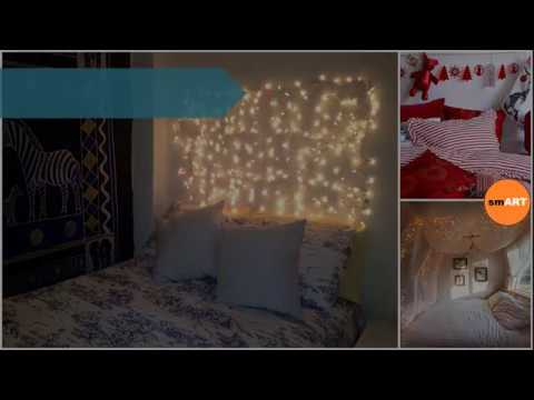 Christmas Bedroom Decorating Ideas Christmas Lights