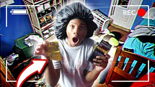 HIDDEN CAMERA ON 14 YEAR OLD SISTER HOME ALONE! **YOU WON'T BELIEVE WHAT SHE FOUND**