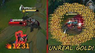 FULL CRIT DARIUS!! Insane Damage + UNREAL GOLD! [ League of Legends ]
