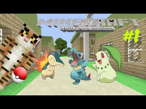Minecraft xbox360 pixelmon w/Download episode 1 i choose you