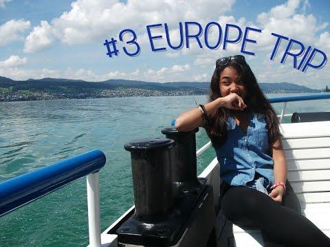 #3 EUROPE TRIP (Hörnli, Zürich, Rapperswil) - Michelleprmdnt