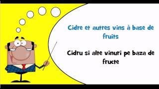 învăța limba franceză # vocabular # temă # Bauturi alcoolice distilate