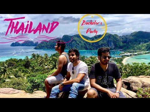 Adheip's Bachelor Party | Thailand 2017 | Travel Vlog | Mohit Mathur