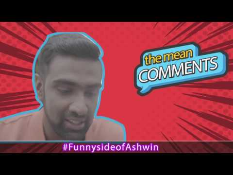 R. Ashwin - Funny Reaction to Fan Comments