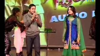 Singer  Karthik Performance @ Gabbar Singh Movie Audio Launch