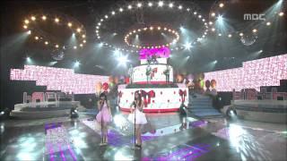 Yuri, Tiffany, CNBLUE - Gee, 유리, 티파니, 씨엔블루 - 지, Music Core 20100220