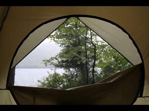 😴  Шум дождя в палатке | 9 часов