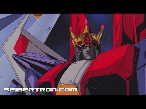 The Transformers The Movie 30th Anniversary Edition Starscream Coronation Scene with Galvatron HD