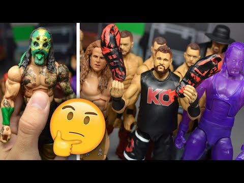 NEW WWE CUSTOM FIGURES! + IDEAS FOR EPIC CUSTOMS!