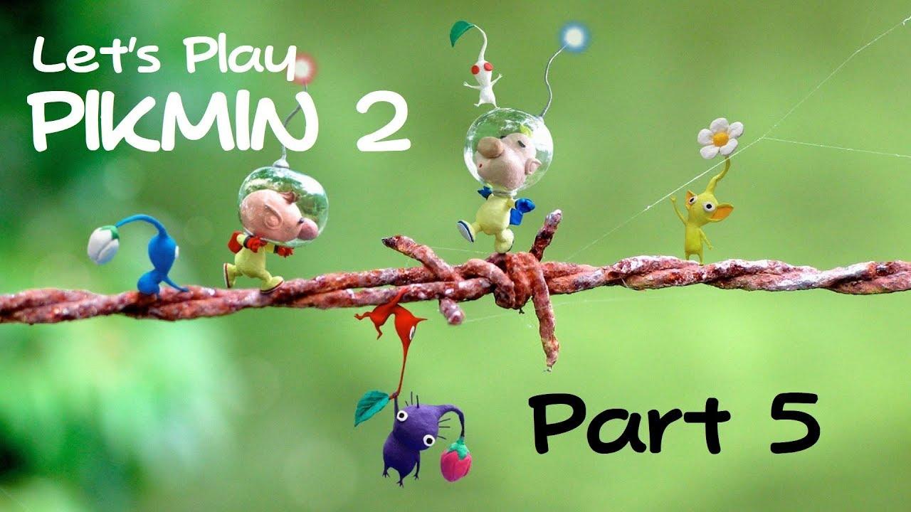 Lets Play Pikmin 2 White Flower Garden Youtube