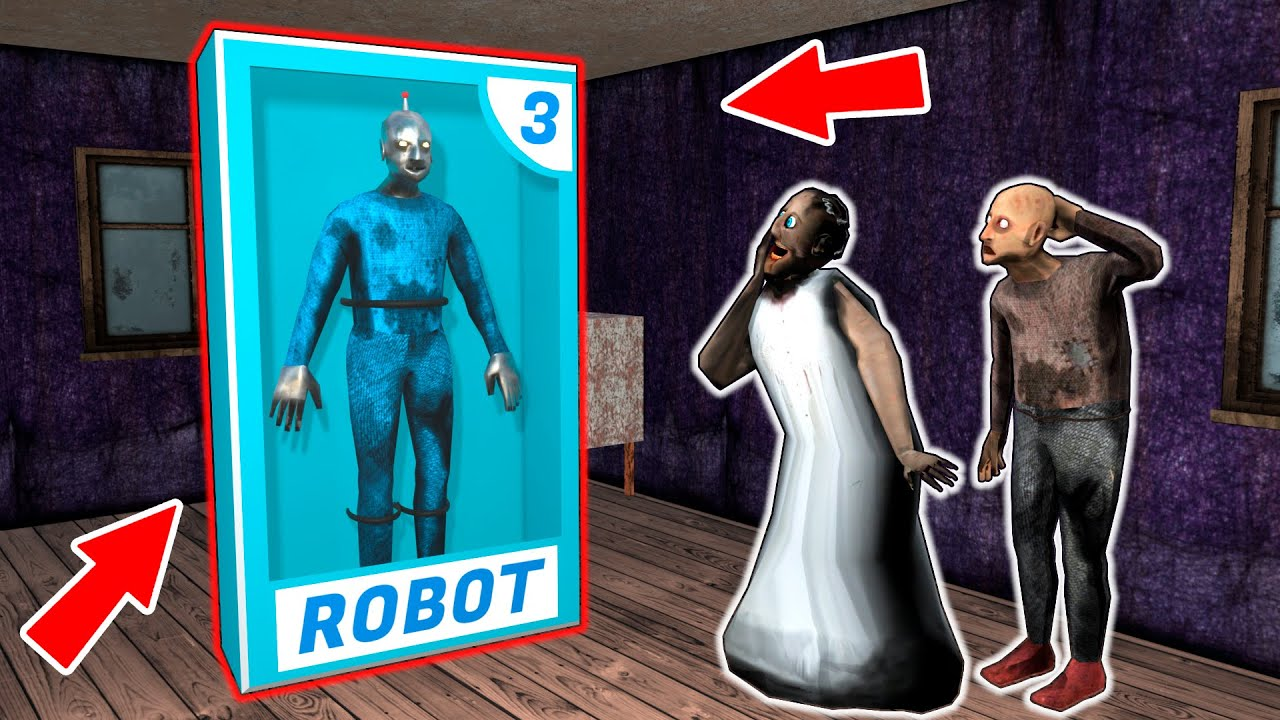 Download Robot-Grandpa vs Granny vs Grandpa - funny horror animation parody (p.122)