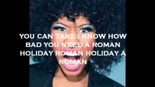 Nicki Minaj Roman Holiday lyrics (Clean)