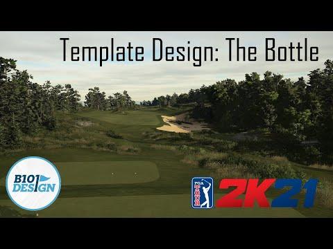 PGA Tour 2K21 Template Design: The Bottle |
