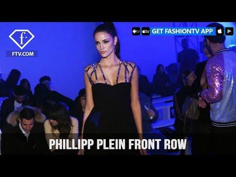 New York Fashion Week Fall/Winter 18 19 - Phillipp Plein Front Row | FashionTV | FTV