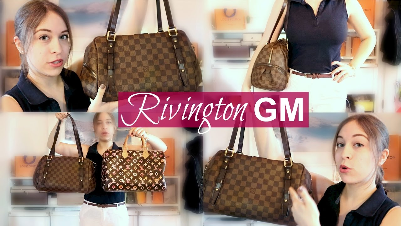 006341d4637c LV RIVINGTON GM REVIEW   MODSHOTS (discontd. bag) - YouTube
