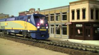 HO Scale   VIA P42   #903 Rear run by