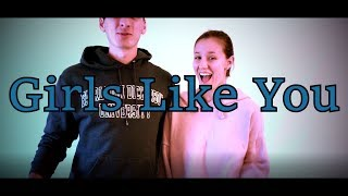Maroon 5 - Girls Like You (Cover by Christopher Fiorenza Feat. Jenna Miller)