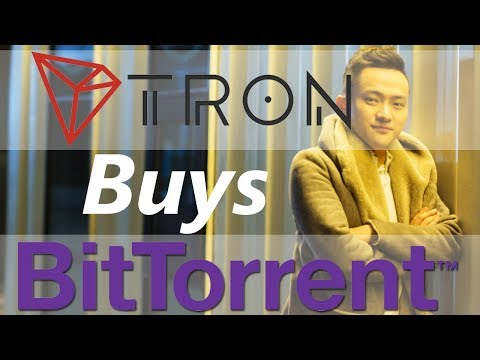 Tron Buys BitTorrent - Deal Includes UTorrent Client And BitTorrent Now