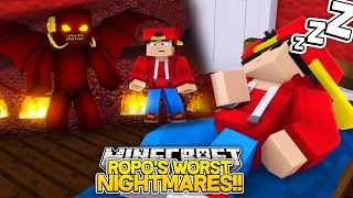 Minecraft Adventure - LITTLE ROPO HAS THE WORST NIGHTMARES!!!