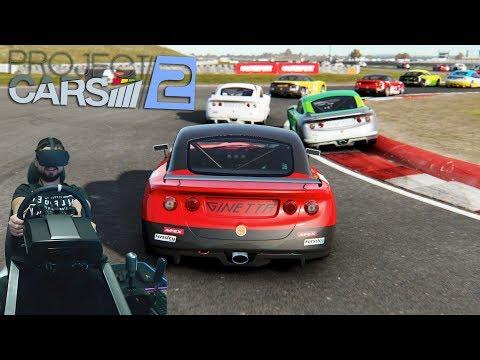 Project Cars 2 - первый успех в карьере на Ginetta GT5 VR Oculus Rift CV1
