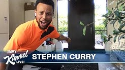 Stephen Curry on Michael Jordan, NBA Return & Attempts Golf Trick Shot