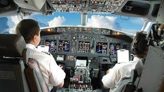 ВЗЛЕТ и ПОСАДКА глазами пилота самолета. ЗРЕЛИЩНЫЙ ролик.