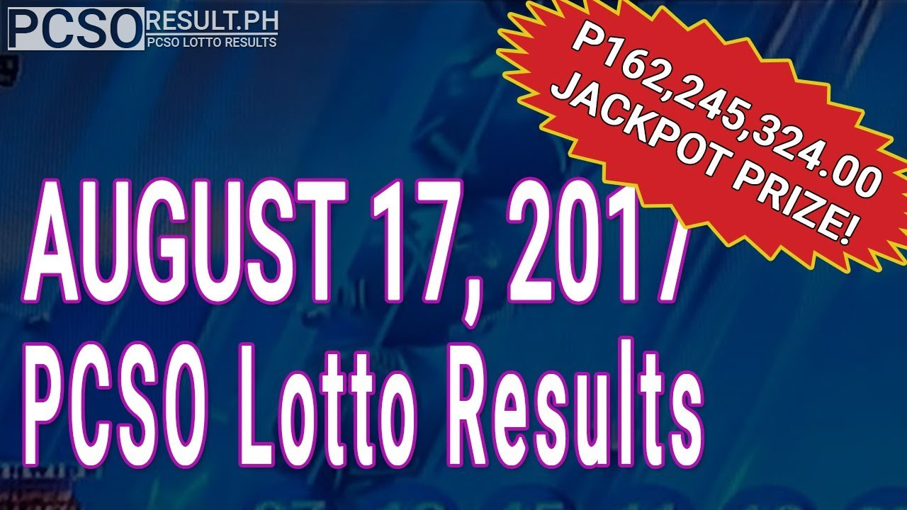 Prizes 6/49 philippine lotto winning number