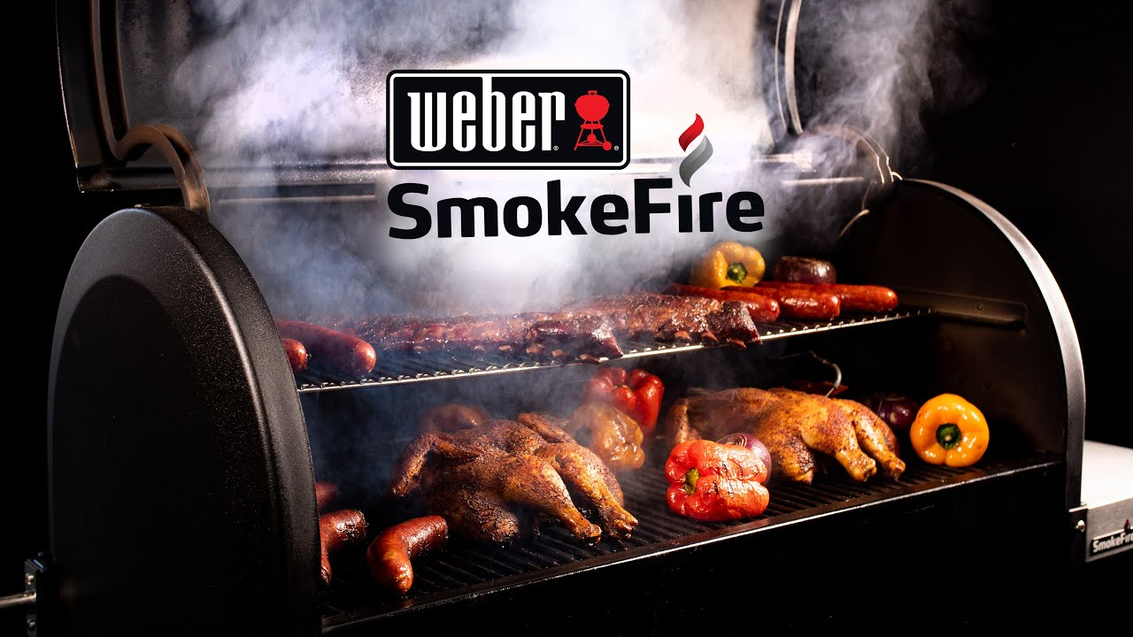 Weber SmokeFire Pellet Grill Review | BBQGuys
