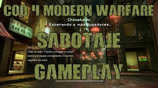 Call of Duty 4 Modern Warfare Sabotaje en Chinatown Gameplay con música